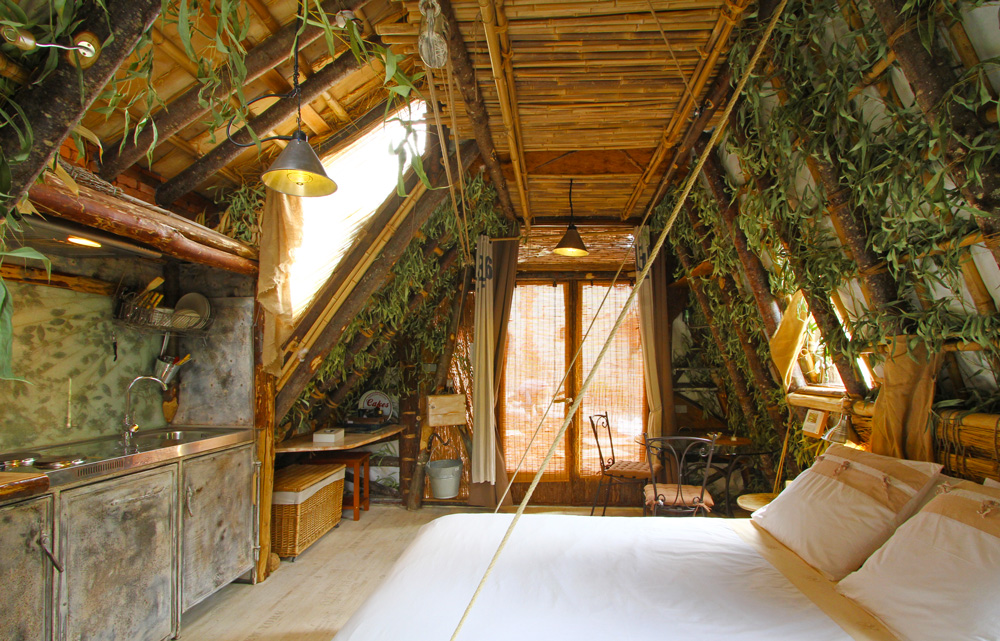 Cabane rocamadour chambres d 39 h te g te atypique - Chambre d hote cabane dans les arbres ...