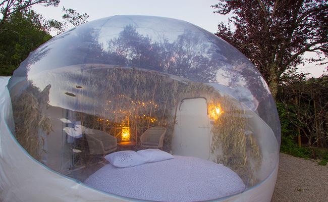 Chambres & gîte, bulle Saint-Cirq