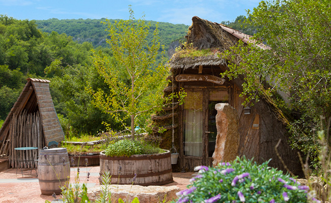 Chambres & gîte, cabane rocamadour