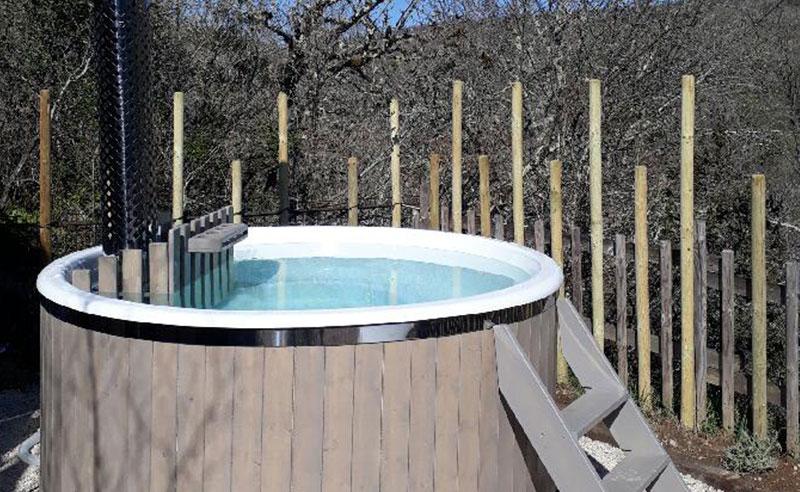 Hébergements insolite espace bain nordique